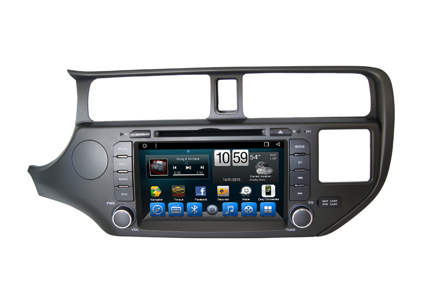 Kia K3 Integrated Navigation System Support Internet APP Download / Install