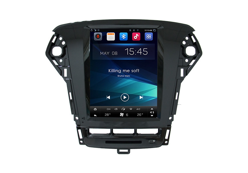 10.4 Inch Smart Touch Screen Car Radio For Ford Mondeo 2013 Head Unit Tesla Dashboard Display